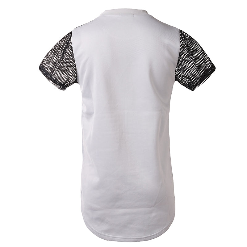 James Mesh Sleeve T-Shirt