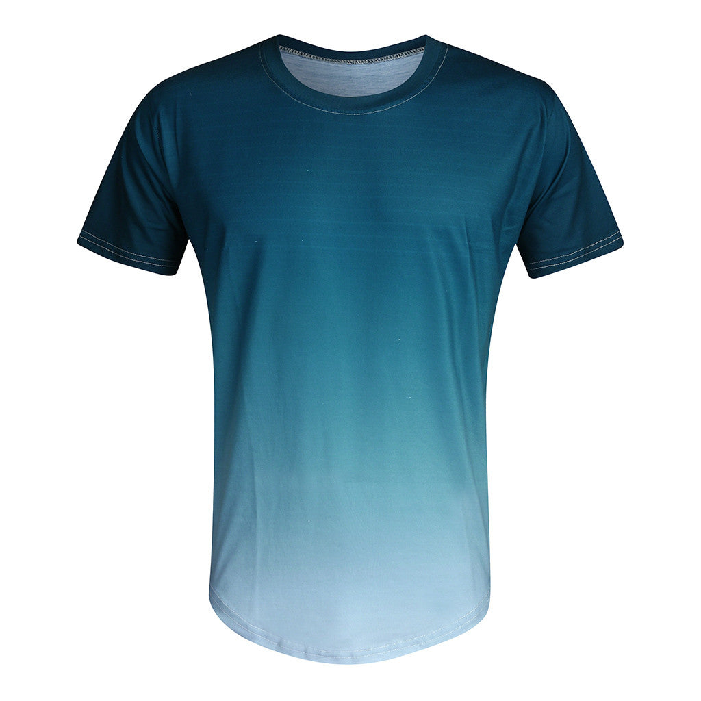 Short Sleeve Dip Dye T-Shirt