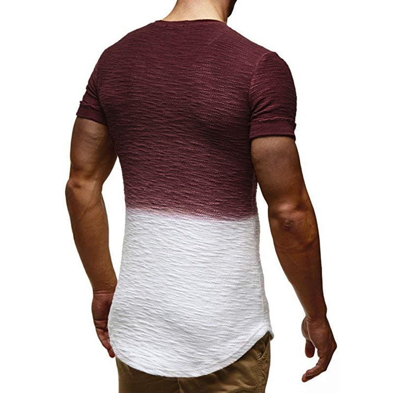 Slim Fit Dip Dye T-Shirt