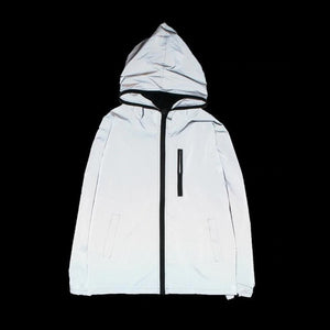 Reflective Windbreaker Jacket