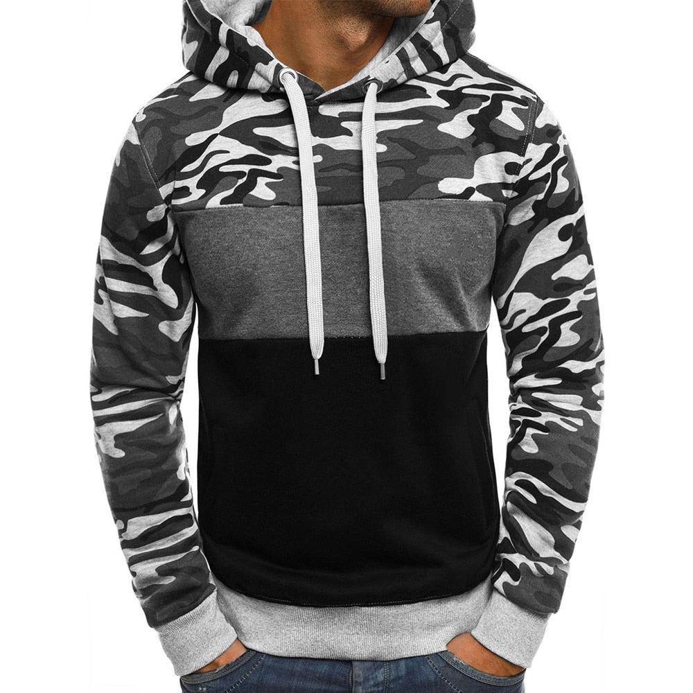 Soft Camouflage Hoodie