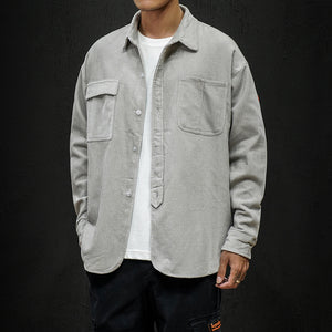 Hickman Casual Long-Sleeved Shirt Jacket