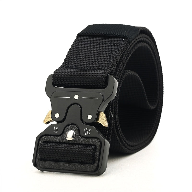 Black Buckle Belt