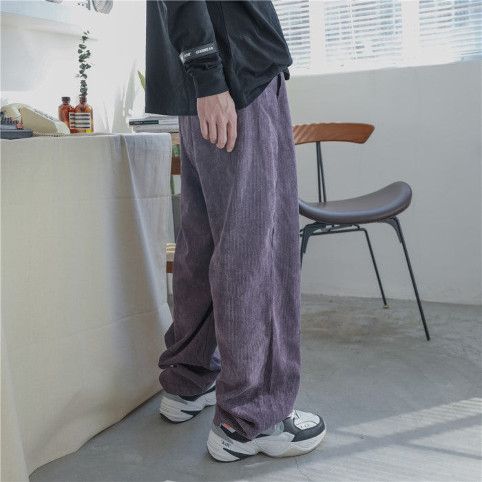 Corduroy Loose Fit Pants