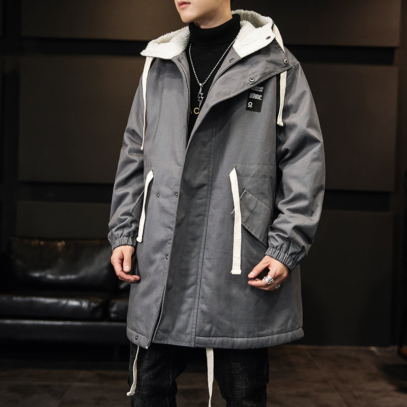 Full-Length Hooded Jacket