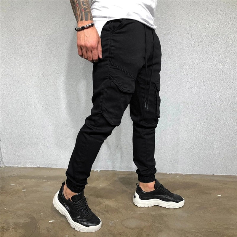 Tactical Joggers With Front Pockets
