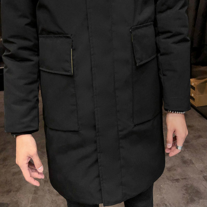 Simple Mid-Length Winter Coat