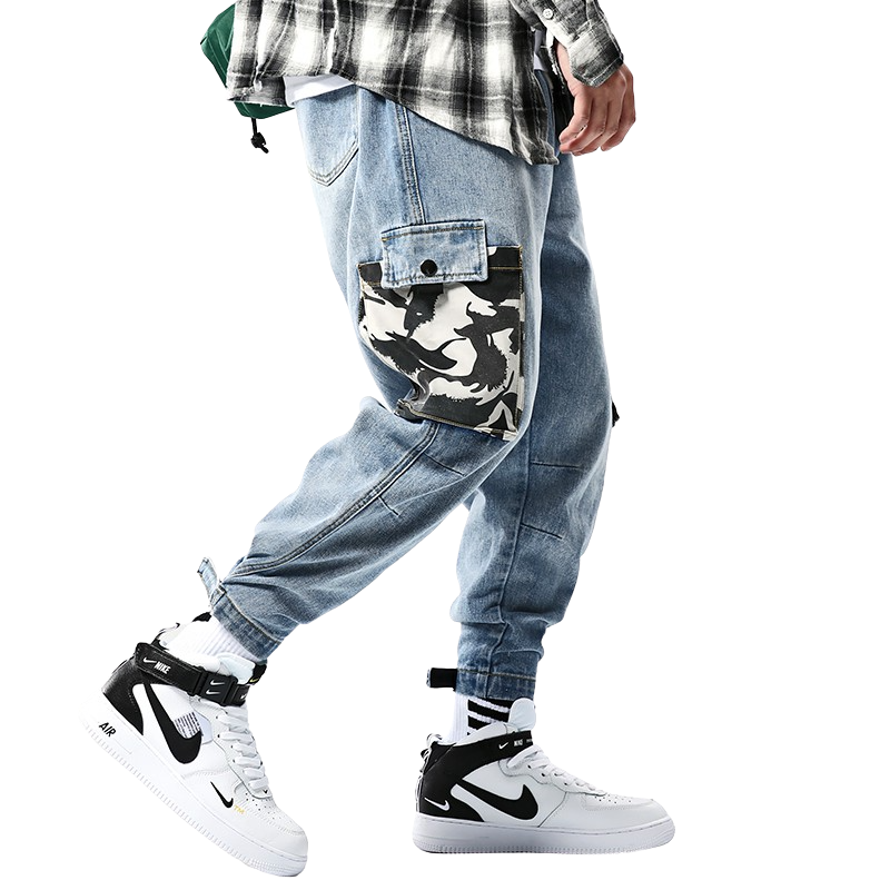 Baggy Street Denim Joggers