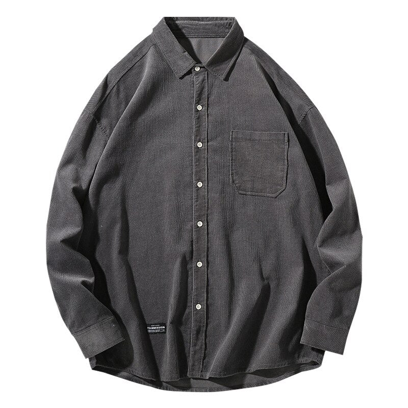 Corduroy Flannel Shirt