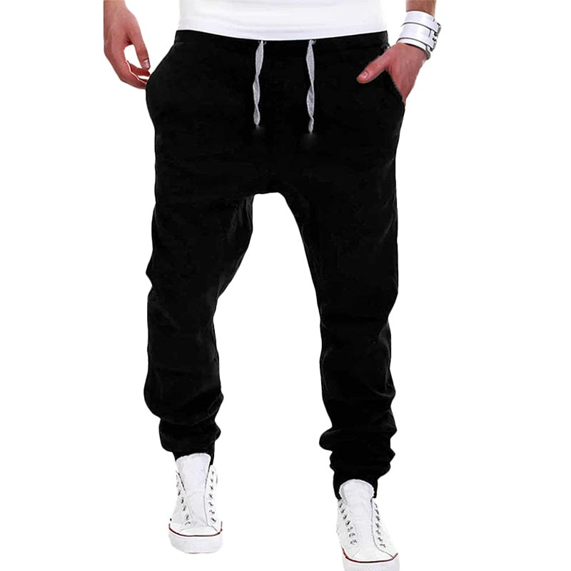 Casual Slouchy Fitted Joggers
