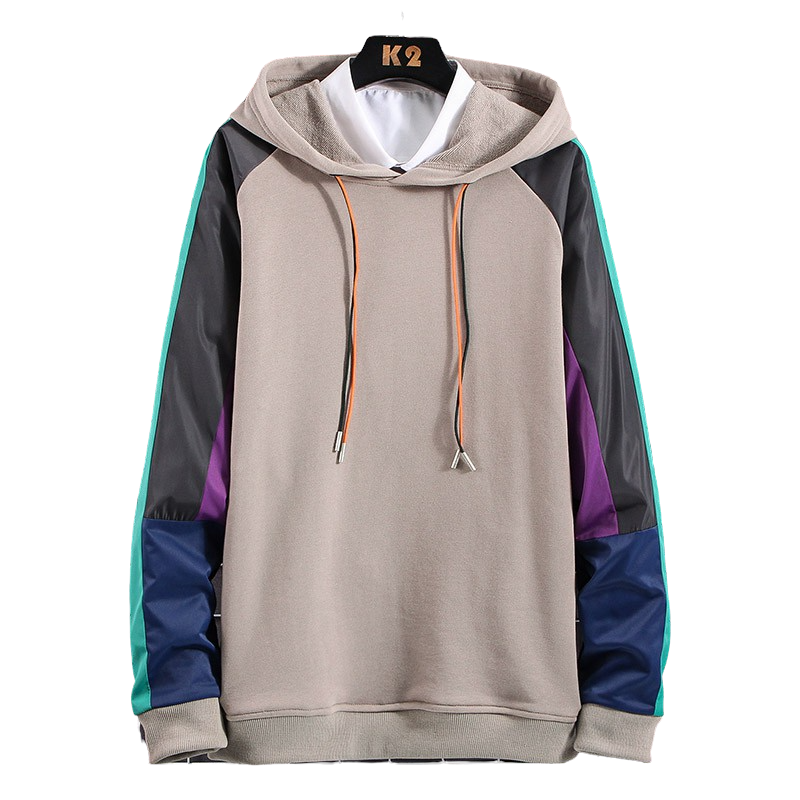 Colorful Sleeved Hoodie