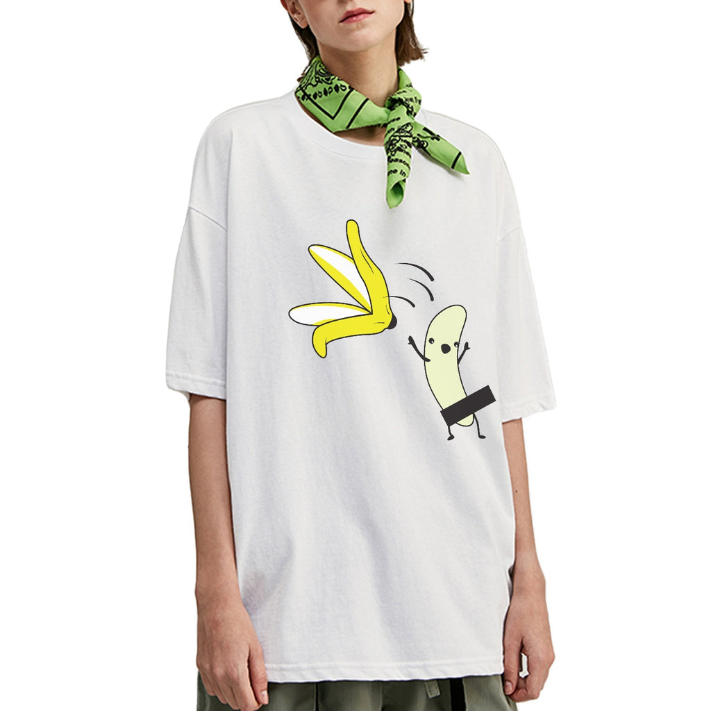 Jumping Banana Oversized T-Shirt