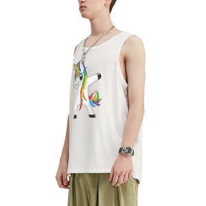 Unicorn Oversized Tank Top