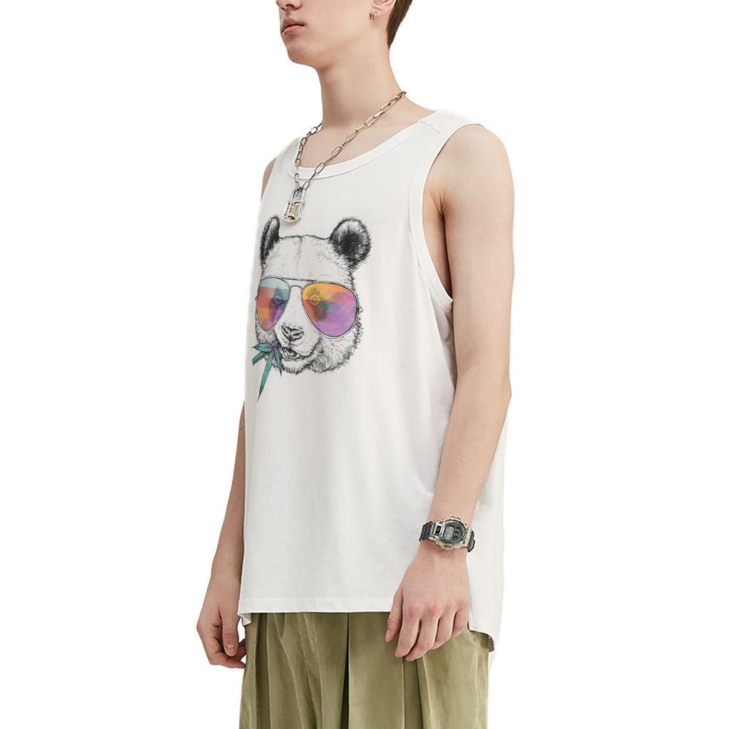 Chewing Panda Oversized Tank Top