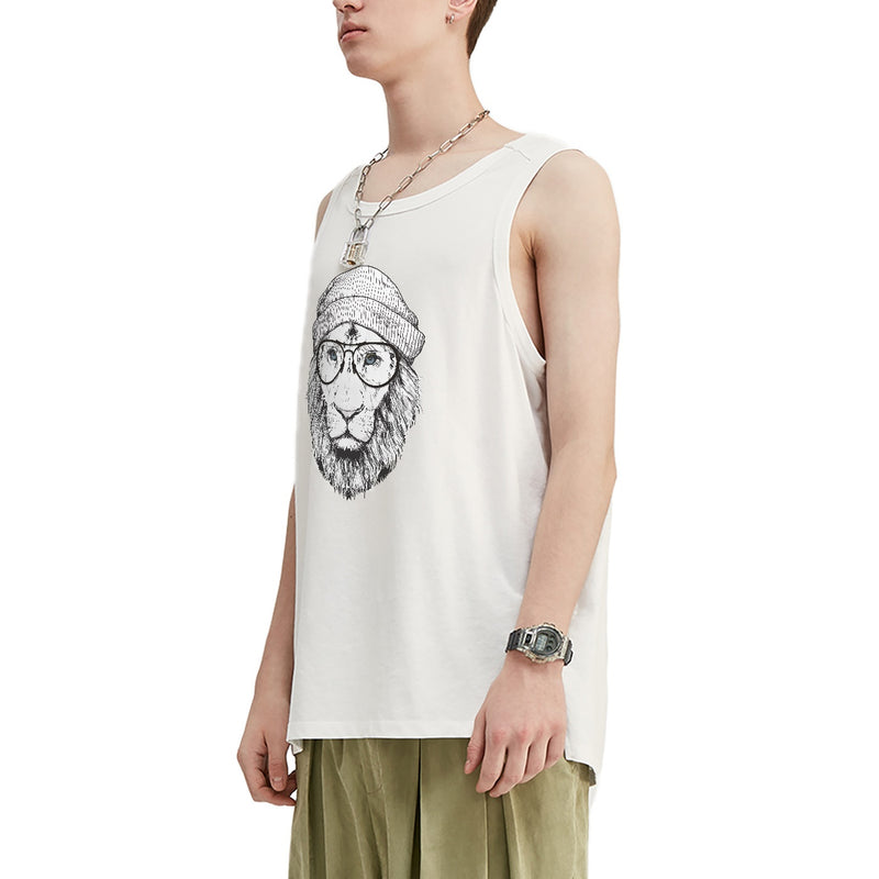 Cool Lion Oversized Tank Top