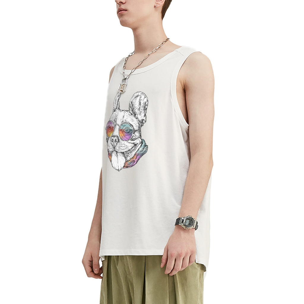 French Bulldog Oversized Tank Top