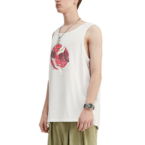 Heron's Dance Oversized Tank Top