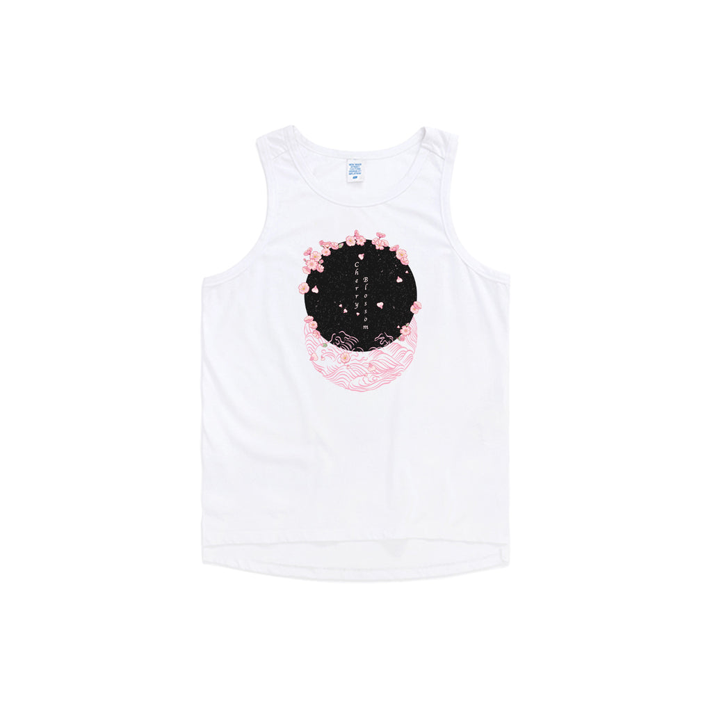 Blossom Nights Oversized Tank Top