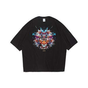 Tiger Of Knowledge Oversized T-Shirt