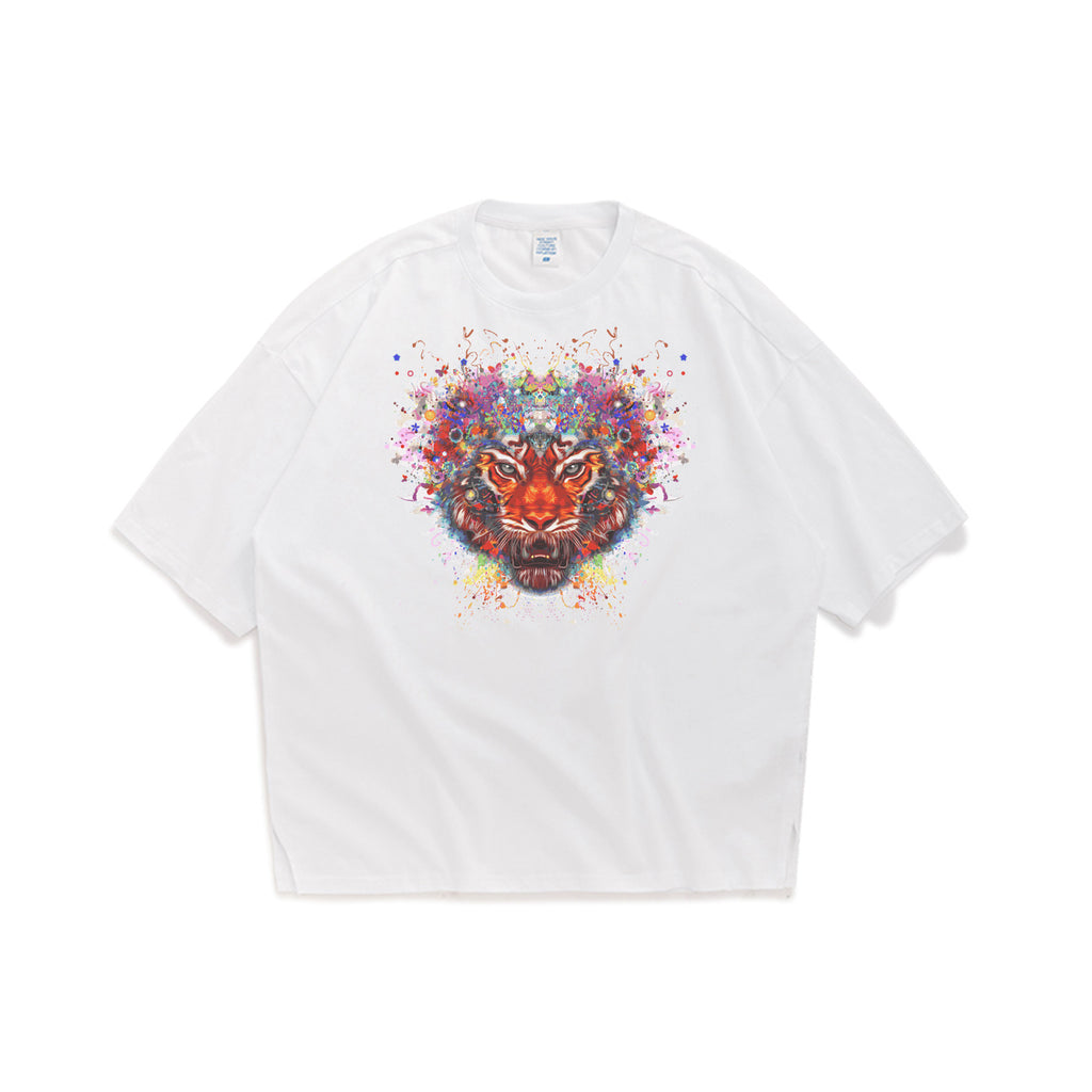 Divine Tiger Oversized T-Shirt