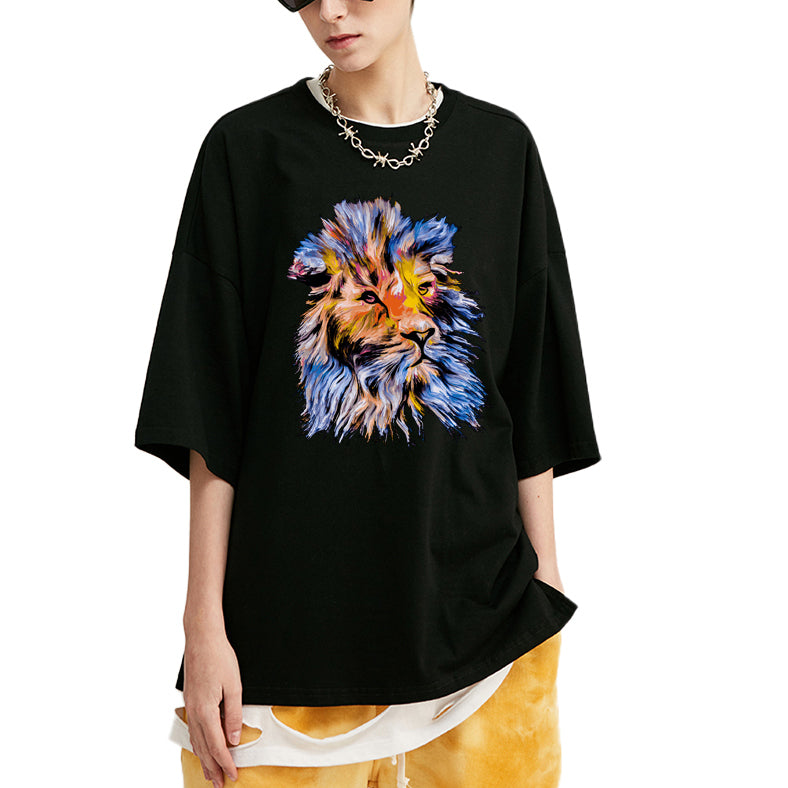 Pretentious Lion Oversized T-Shirt