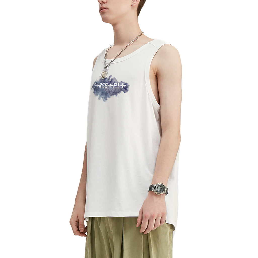 Smokey Streetpit Logo Oversized Tank Top