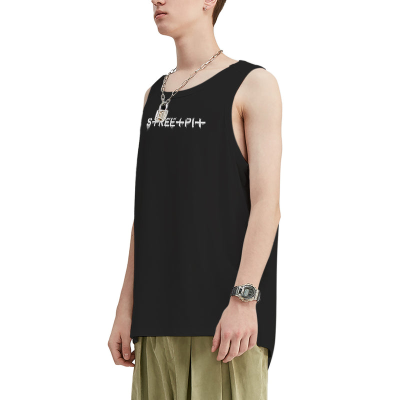 Streetpit Drips Oversized Tank Top