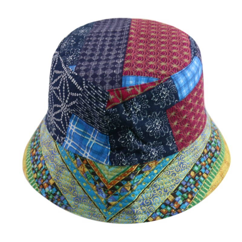 Geometric Pattern Bucket Hat