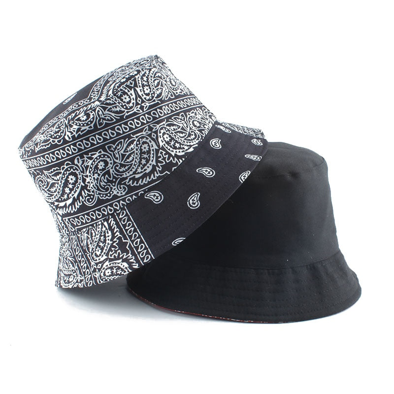 Vintage Printed Bucket Hat