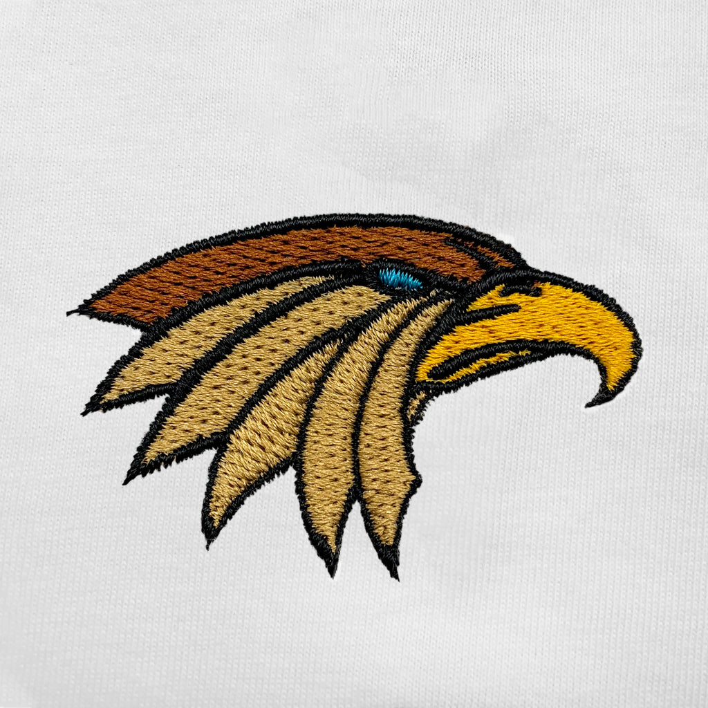 Eagle Embroidered Oversized Tank Top