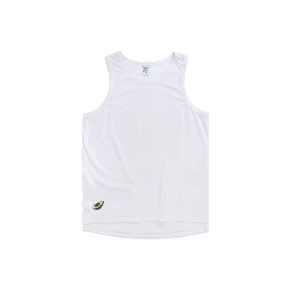 Avocado Embroidered Oversized Tank Top