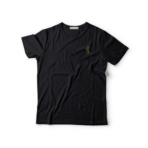Cactus Embroidered T-Shirt