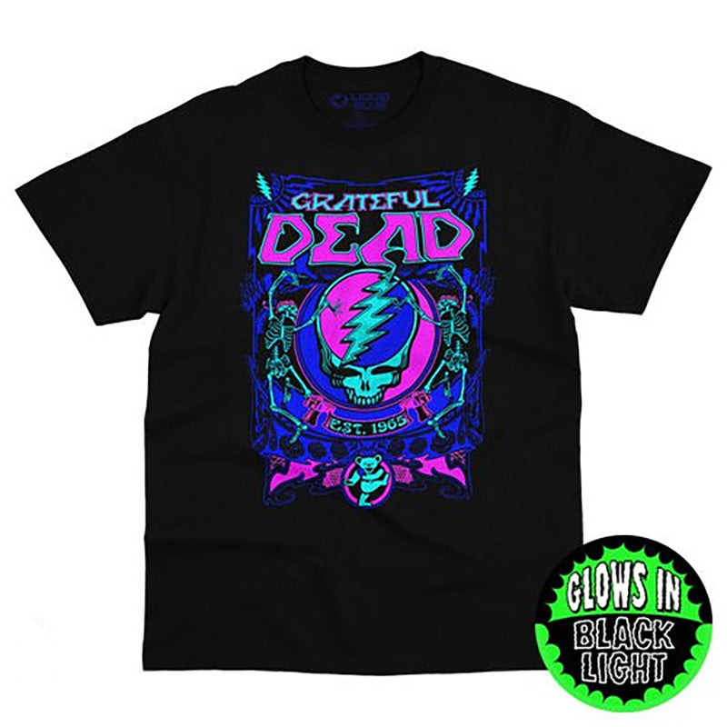 SYF BLACKLIGHT GRATEFUL DEAD T-Shirt