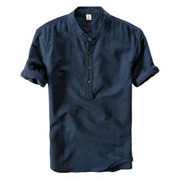 Breathable Linen Blend Shirt