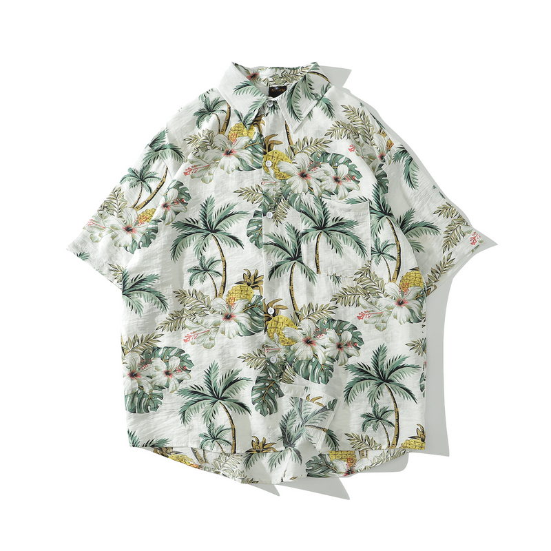 Floral Oversize Button Shirt