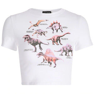 Women Dinosaur T-Shirt