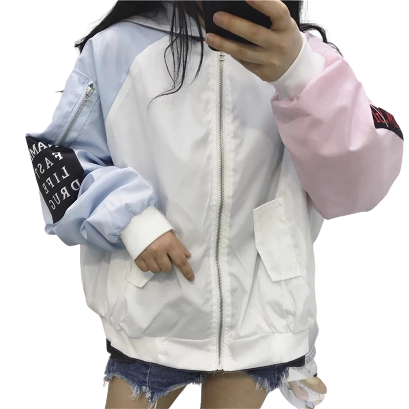 Women's Color-Blocked Jacket