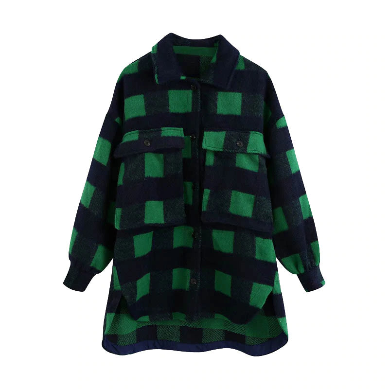 Oversized Woolen Jacket