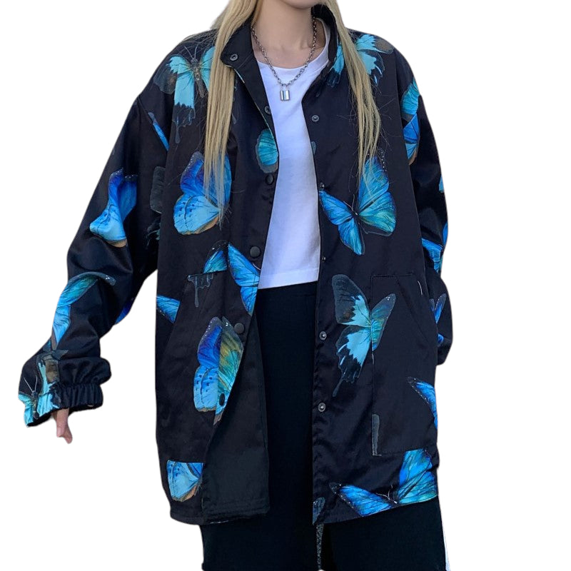 Street Wear Butterfly Jacket