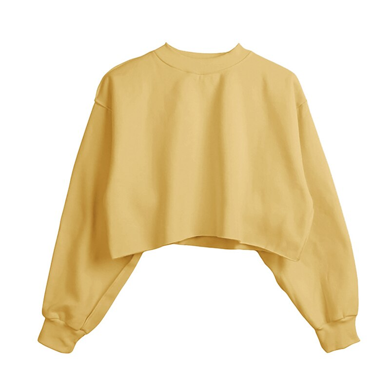 Casual Short Sweatshirt