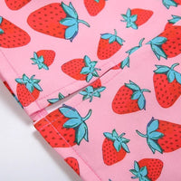 Strawberries Mini Skirt
