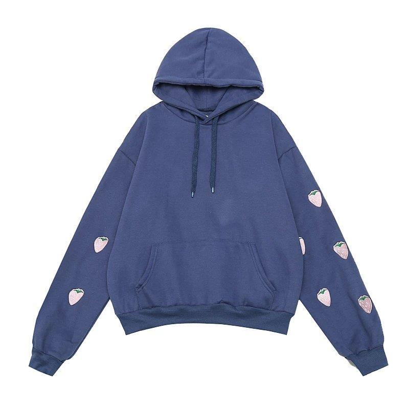 Oversized Strawberry Hoodie
