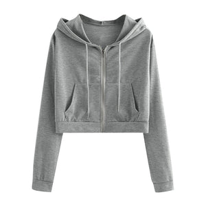 Hooded Drawstring Sweatshirt