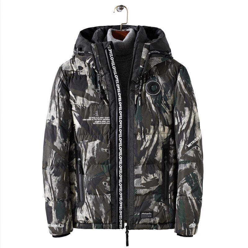 Camouflage Winter Coat