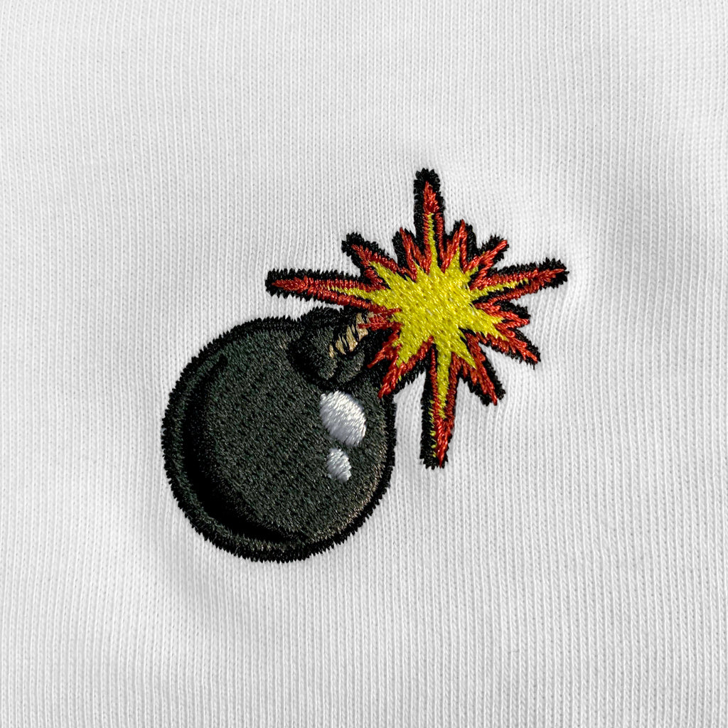 Bomb Embroidered T-Shirt