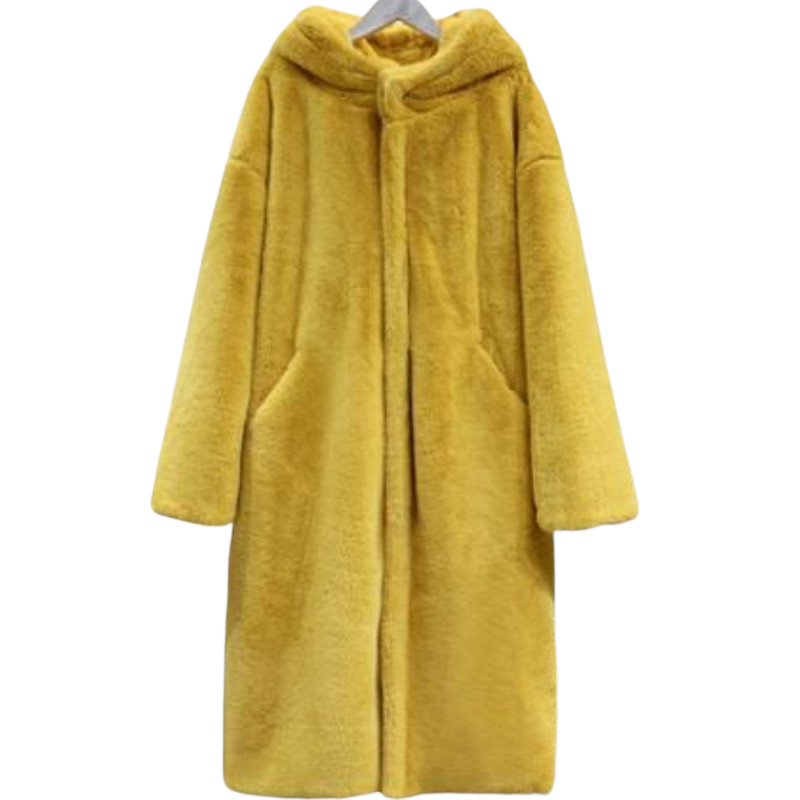 Warm Long Hooded Jacket