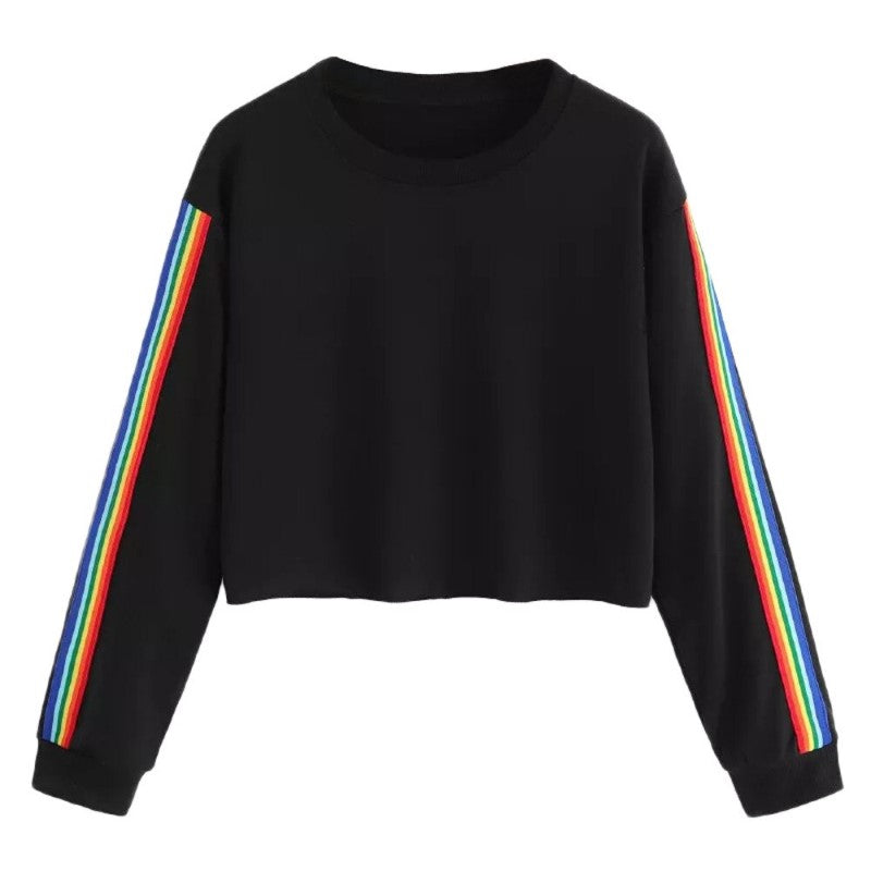 Rainbow Printed Sweatshirt