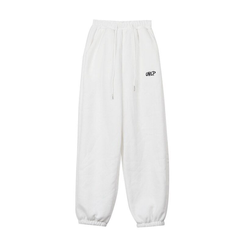 Drawstring Jogging Pants