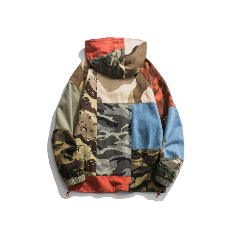 Colorful Camouflage Jacket