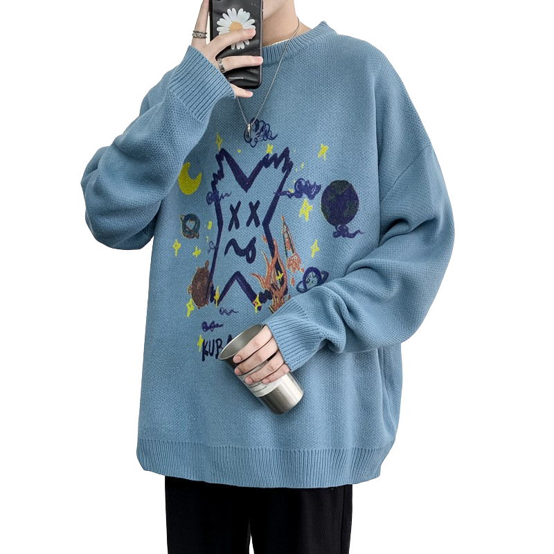 Crazy X Sweater